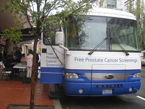 Prostrate Cancer Sreening on wheels