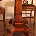 William IV Walnut Dining Table & Set Chippendale Dining Chairs Furniture