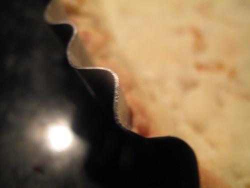 Kumquat pie crust