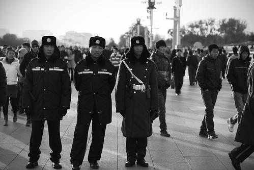 police tianenmen