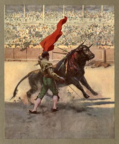 026-El pase por alto-An artista in Spain 1914- Michael Arthur C.
