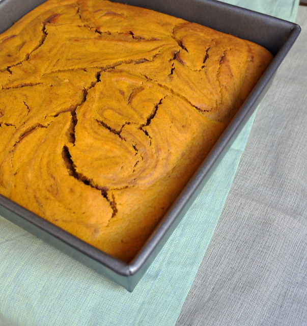 Pumpkin. Swirl. Brownies: Happy Thanksgiving!
