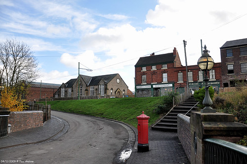 Street Scene at The Black Country Museum
