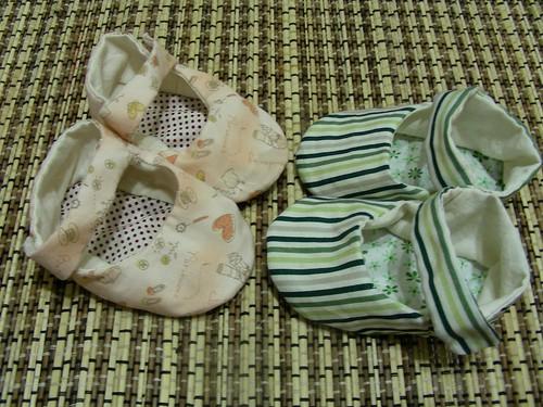 第六雙、第七雙手作鞋