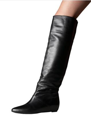 otk boots - black