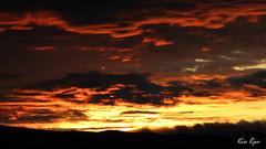 Celaje Rojo (KIN RYU) Tags: sunset sol canon de atardecer is powershot cielo gutierrez puesta sx1 tuxtla celaje