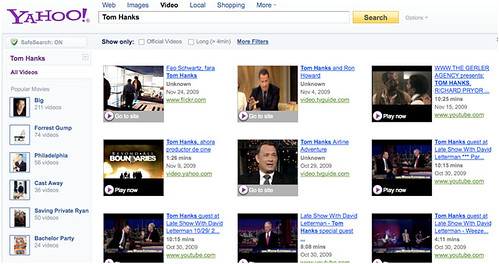 video search tom hanks