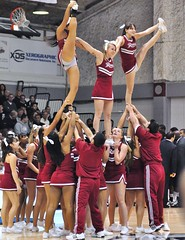 Rider Cheerleaders (MNJSports) Tags: slam shoot basket pyramid pass lasalle cheerleader ncaa explorers broncos score rider broncs dribble dunk divi a10 bloomers rebound layup collegebasketball jumpshot divisioni maac mensbasketball heelstretch metroatlanticathleticconference atlantic10conference