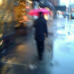 """A Touch of Pink under the Rain"" (Sion Fullana) Tags: urban newyork blur rain umbrella square lluvia poetry artistic streetphotography poetic squareformat paraguas allrightsreserved newyorkers iphone creativeblur 500x500 pinkumbrella urbanshots greenwichavenue urbannewyork intentionalcameramovement iphoneshots iphoneography iphoneographer sionfullana atouchofpinkundertherain manfloatingintherain poetryonthestreet rainandpoetry throughthelensofaniphone"