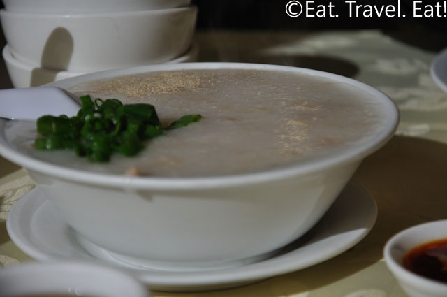 Preserved Duck Egg and Pork Porridge