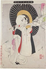 Yoshitoshi Sagi-musume (timtak) Tags: japan culture horror ghosts monstrous yoshitoshi tsukioka 36ghosts thirtysixghosts