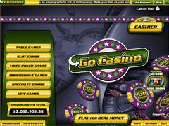 Go Casino Lobby