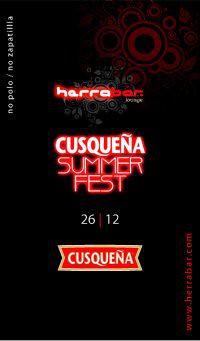 Cusqueña Summer Fest - Herrabar Lounge