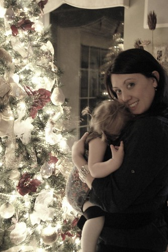 babywearing on christmas