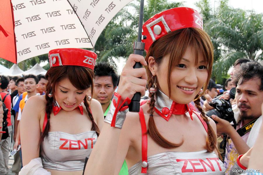 ZENT Sweetie showgirls