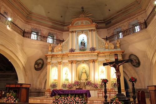 Inside San Guillermo Parish Church