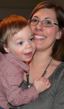 Momma and Landon by you.