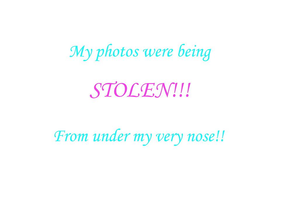 Stolen photos