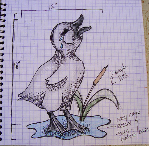 Ugly Duckling Drawing