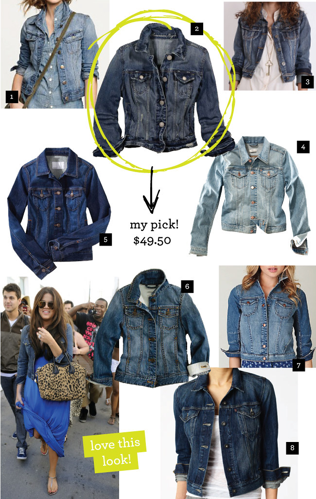 WANTED: Denim Jacket « Design Me Daily Blog