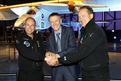 Bertrand Piccard - Janez Potocnik - Andre Borschberg
