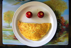 Happy Meal :D (Tomitheos) Tags: portrait food funnyface toronto dinner recipe lunch happy flickr image avatar picture optical pic daily photograph eggs brunch capture now today tabletop omelette happymeal appleofmyeye stockphotography smilingface 2011 plumapples cranapples platinumheartaward goldstaraward bytomitheos homemadecountrymeal