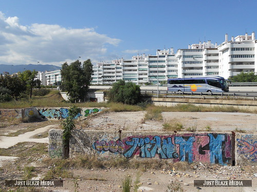 Graffiti Costa Del Sol by justblazemedia