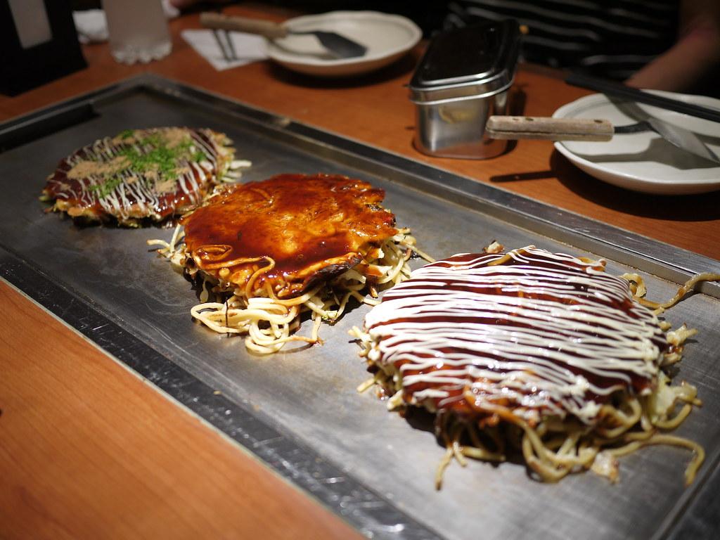 Japanese Style Okonomi-yaki