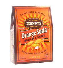 Mandy's Orange Soda Hard Candy Box