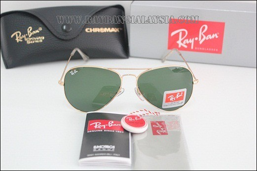 Aviator-Gold Green FRAME