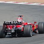 Ferrari at Silverstone.
