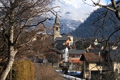 Vollèges (bulbocode909) Tags: valais suisse vollèges valdentremont villages maisons églises arbres hiver montagnes nature neige paysages