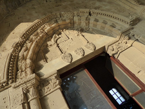 Bellapais Abbey, cloister - refectory doorway (3)