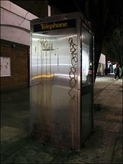 Two / Ofske / Sole (Alex Ellison) Tags: ofske sole lwi northlondon urban graffiti graff boobs night tag