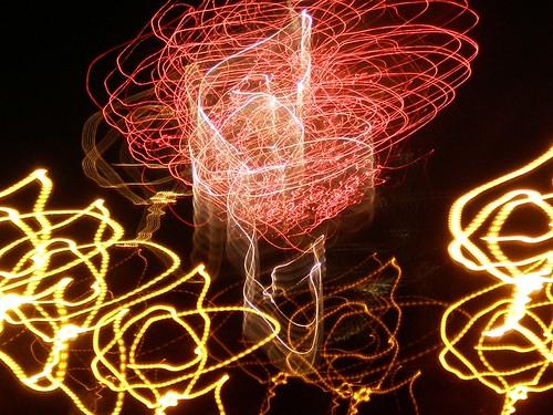Firework Streamers