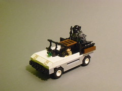 Apocalego - family car (Exxtrooper) Tags: family its car gold cool kill all lego wide apocalypse 7 made them ba minifigs custom grenade should rite decals studs launcher brickarms apocalego exxtrooper