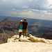 Christine and Mike at the North Rim of the Grand Canyon