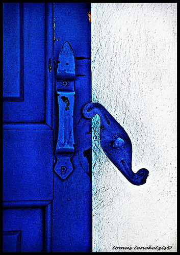 blue door - Mykonos - Ellas -Scan-acw