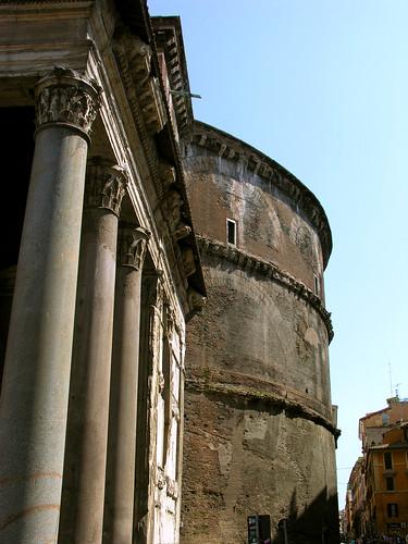Columns on the Pantheon
