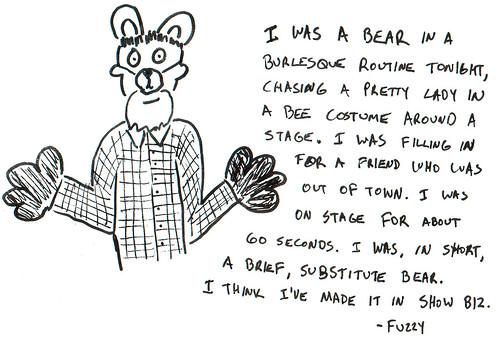 366 Cartoons - 173 - Bear