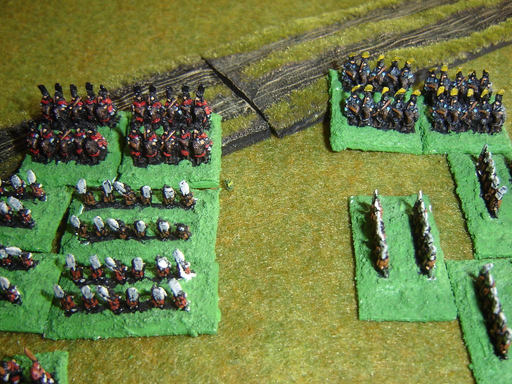 Kuroda cavalry hits Akechi