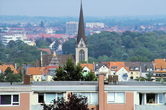 Hildesheim (gabriel_flr) Tags: churches kirchen hildesheim niedersachsen wohnblcke biserici sigmasd14 bockfeld gabrielflr