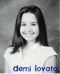 Demi Lovato young yearbook school photo by lisaxoxola14.