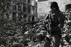 (SupraMK86) Tags: 2 rock modern river nikon call arms duty ghost blackhawk oakley ar15 1911 bolle 511 warfare tactical surefire d40 sigarms peltor hsgi