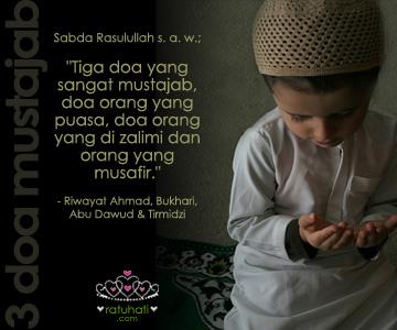 Poster 3 Doa Mustajab, Ratuhati.com!