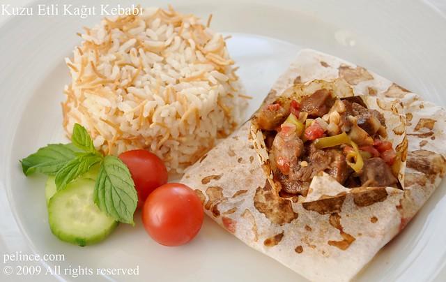 Kuzu Etli Kağıt Kebabı