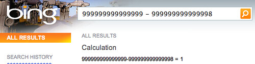 Bing Calculator Right