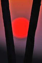 guardando verso Forio al tramonto