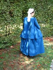 1740s casaque, back