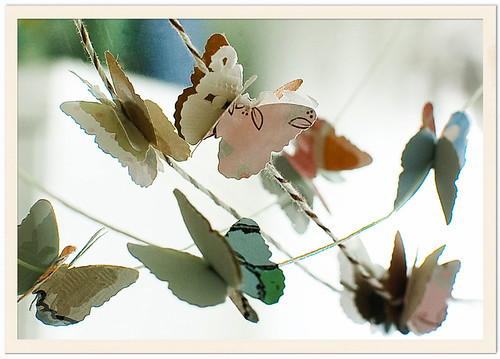 Butterfly Garlands / Cindy {K}